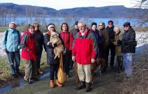 Wanderung um den Laacher See am 31. Januar 2015