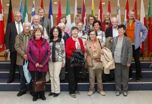 Visitors group Werner LANGEN