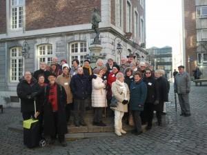Reisegruppe in Aachen
