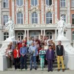 Reisegruppe Nero Ausstellung Trier vor kurfürstl. Palais 2016