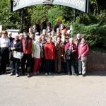 Reisegruppe am Hambacher Schloss