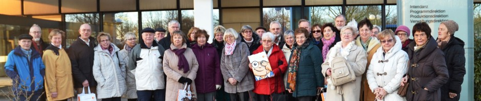Reisegruppe beim ZDF